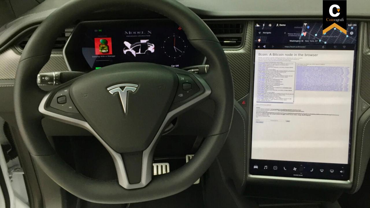 Tesla'nın Elektrikli Otomobili İle Bitcoin Ürettiler