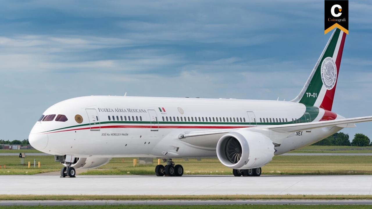 Meksika Merkezli Şirket, Ülkenin Başkanlık Uçağı karşılığında Kripto Para Teklif Etti