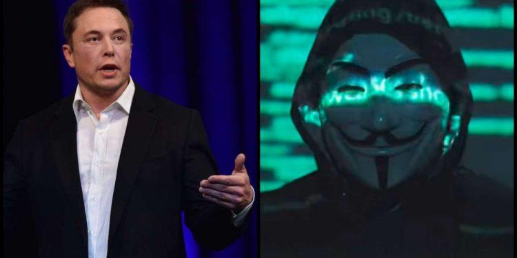 Ünlü Hacker Grubu Anonymous Elon Musk'ı Hedef Aldı